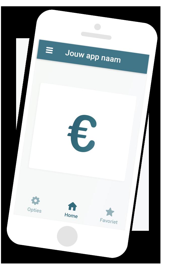 Bereken de kosten voor jouw app